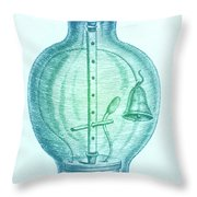 Robert Boyles Air Pumps Throw Pillow