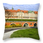 Royal Castle In Warsaw Throw Pillow