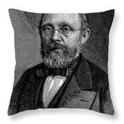 Rudolf Virchow (1821-1902) Throw Pillow