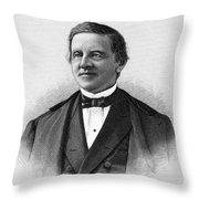 Samuel J. Tilden (1814-1886) Throw Pillow