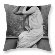 Sarah Bernhardt, French Actress Throw Pillow