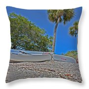 Sarasota Bayfront  Throw Pillow