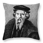 Sebastian Cabot Throw Pillow