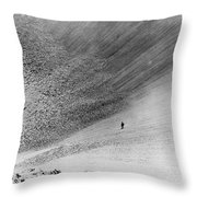 Sedan Crater, Nevada Test Site Throw Pillow