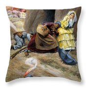 Siege Of Vicksburg, 1863 Throw Pillow
