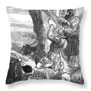 Sir Francis Drake (1540-1596) Throw Pillow
