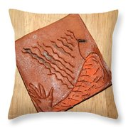 Sleepy - Tile Throw Pillow