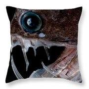 Sloanes Viperfish Throw Pillow