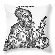 Socrates, Greek-athenian Philosopher Throw Pillow