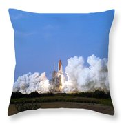 Space Shuttle Endeavour Throw Pillow