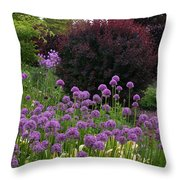 Springcolors Throw Pillow