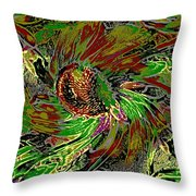 Sunny Start Throw Pillow