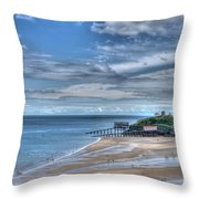Tenby Pembrokeshire Throw Pillow