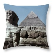 The Great Sphinx Throw Pillow