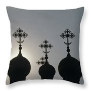 The Kremlin Throw Pillow