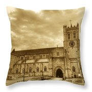 The Priory Throw Pillow