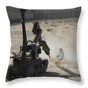 The Teodor Heavy-duty Bomb Disposal Throw Pillow