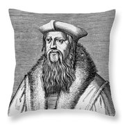 Thomas Cranmer (1489-1556) Throw Pillow