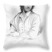 Thomas Gray (1716-1771) Throw Pillow