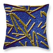Tobacco Mosaic Virus Throw Pillow