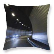 Tunnel Throw Pillow