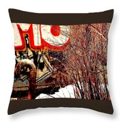 Untitled 2 Throw Pillow