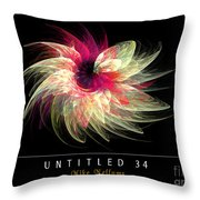 Untitled 34 Throw Pillow