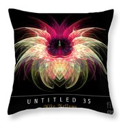 Untitled 35 Throw Pillow