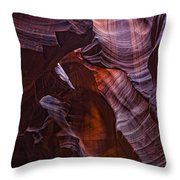 Upper Antelope Canyon, Arizona Throw Pillow