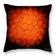 Varicella-zoster Virus Throw Pillow