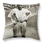 Walter Rabbit Maranville Throw Pillow