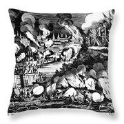 Washington Burning, 1814 Throw Pillow