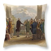 Washington: Inauguration Throw Pillow by Granger