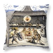 Willem Barents (c1550-1597) Throw Pillow