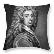 William Congreve Throw Pillow