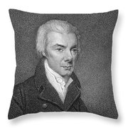 William Wilberforce Throw Pillow