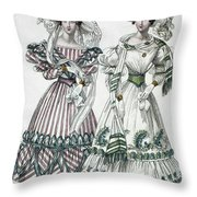 Womens Fashion, 1828 Throw Pillow