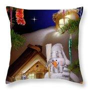 Wonderful Christmas Still Life Throw Pillow