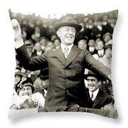 Woodrow Wilson (1856-1924) Throw Pillow