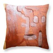 Yell - Tile Throw Pillow