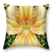Lily Fantasy Throw Pillow