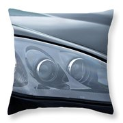 2002 Chevrolet Corvette Head Light Throw Pillow