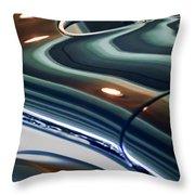 2006 Speedster Motorcars Custom Zephyr Replica Rear Body Throw Pillow