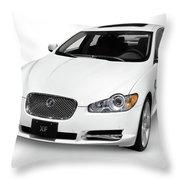 2009 Jaguar Xf Luxury Car Throw Pillow