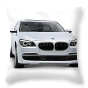 2010 Bmw 760li Individual Luxury Sedan Throw Pillow