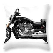 2010 Harley-davidson Vrsc V-rod Muscle Throw Pillow