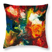 2010 Untitled Series #5 Throw Pillow
