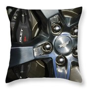 2011 Chevrolet Camaro Wheel Throw Pillow