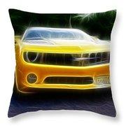 2012 Chevrolet Camaro Rs Throw Pillow