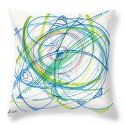 2012 Drawing #11 Throw Pillow
